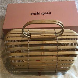 Handbags - Lilleth natural bamboo bag